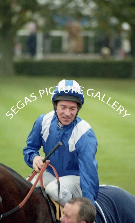 The Jockey Richard Hills @ Newmarket on the 16th October 2004